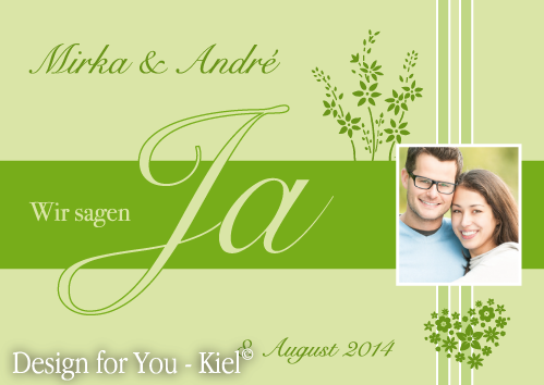 Mirka & André © Design for You -Kiel