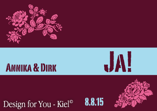 Annika & Dirk © Design for You -Kiel