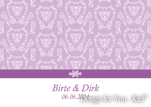 Birte & Dirk © Design for You -Kiel