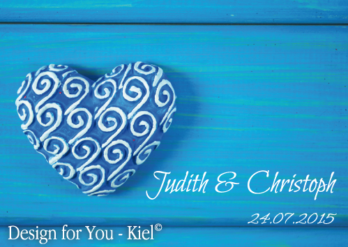 Judith & Christoph © Design for You -Kiel