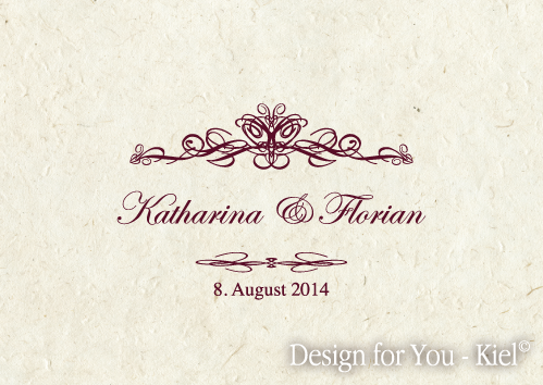 Katharina & Florian © Design for You -Kiel