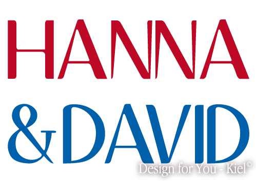 Hanna & David © Design for You -Kiel
