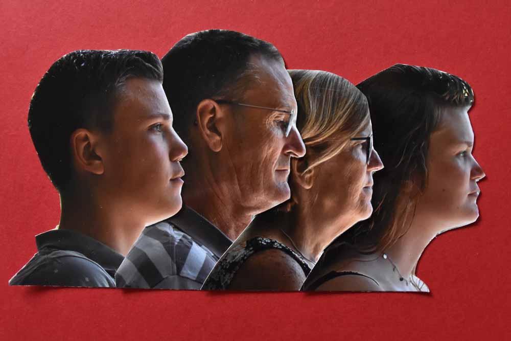 Wilma van den Heijkant, opdracht: alternatief familieportret