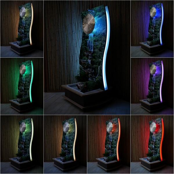 Faszinierendes Lichtambiente bei Tag und Nacht von dezent bis ausdruckvoll