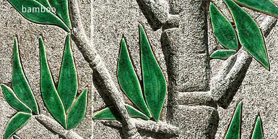 bamboo Relief in Granit