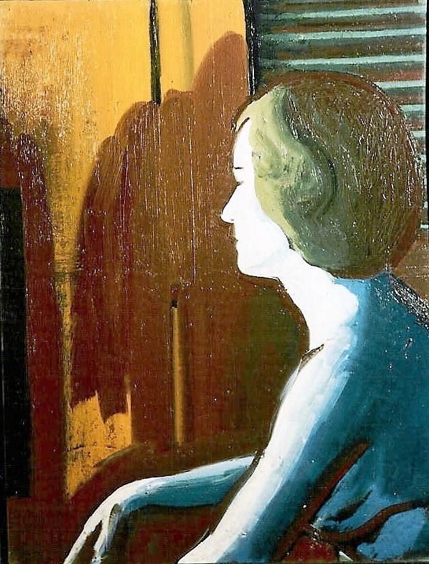 huile sur toile, collection particulière, Paris
