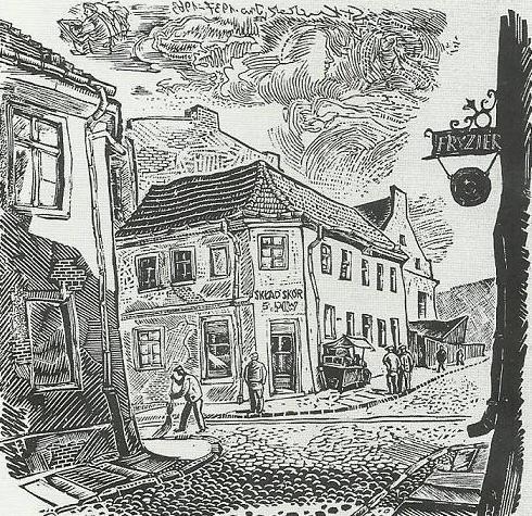 ulica Św. Ducha w Inowrocławiu