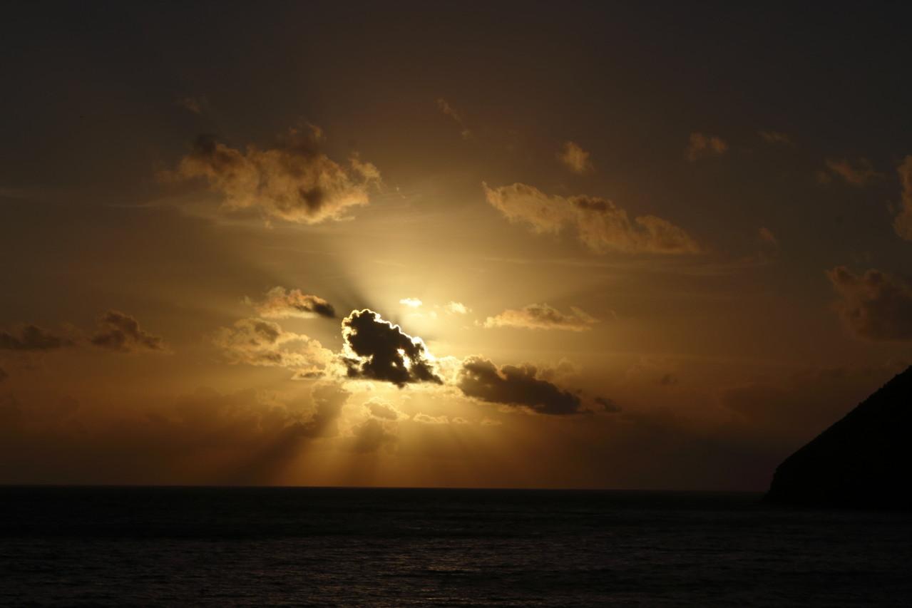 Coucher de soleil sur Sao Jorge - 01aout13 @ Florian Bernier