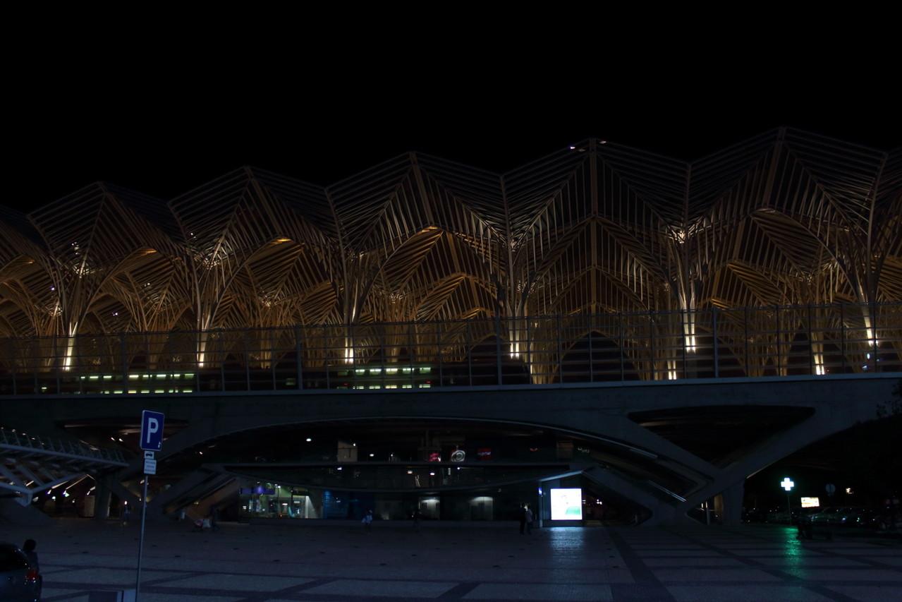 Architecture Gare Oriente de Lisbonne - été 2013 @ Florian Bernier