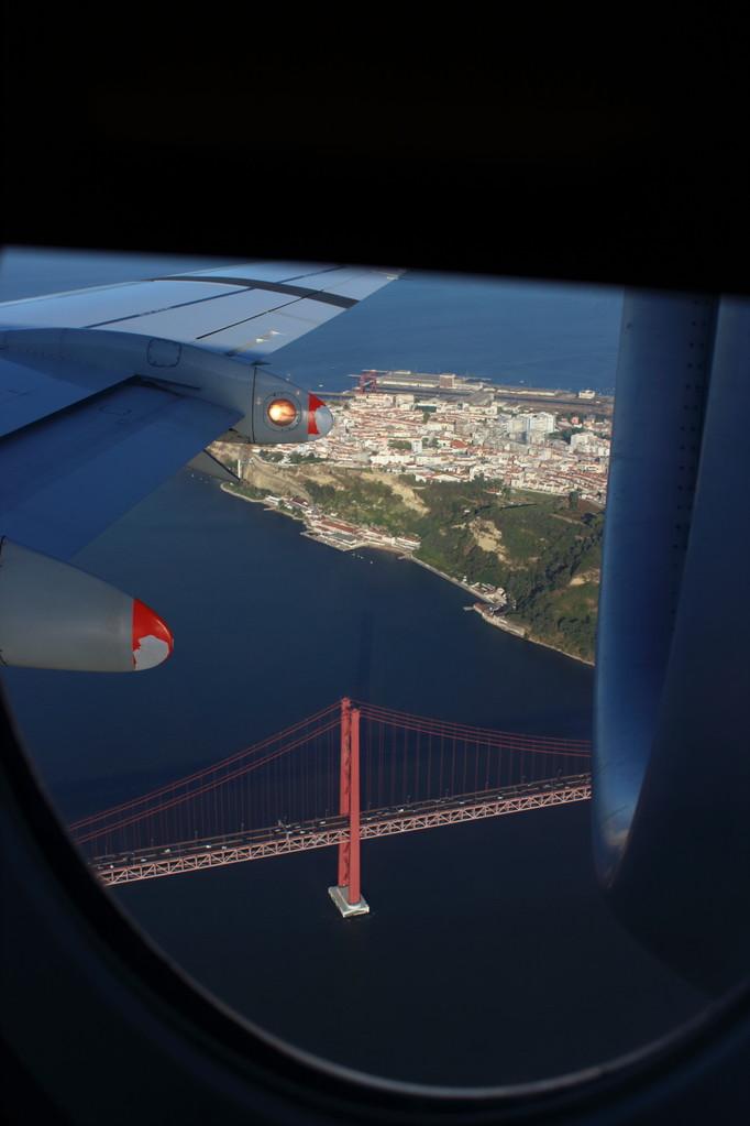 Pont du 25 avril de Lisbonne - été 2013 @ Florian Bernier