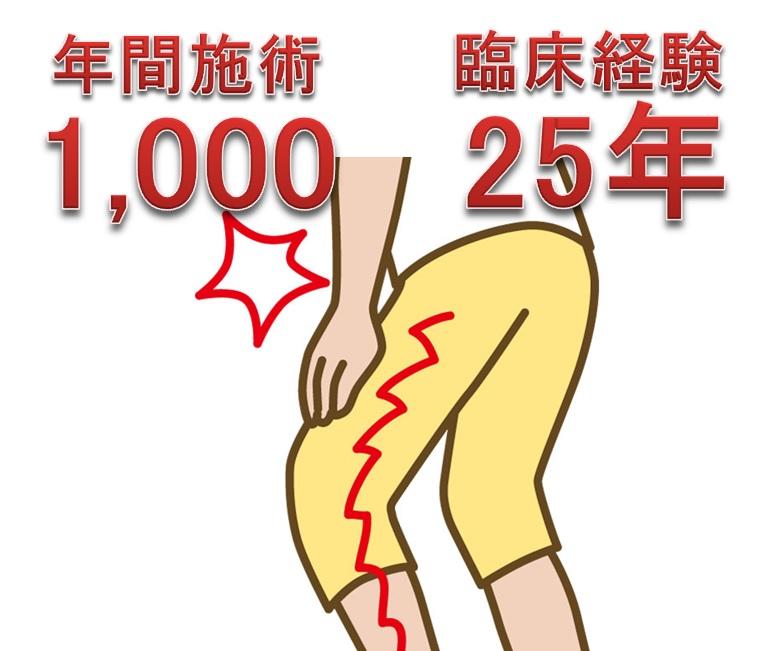 左股関節に痛みの原因と治療法~年間1000施術の実績!