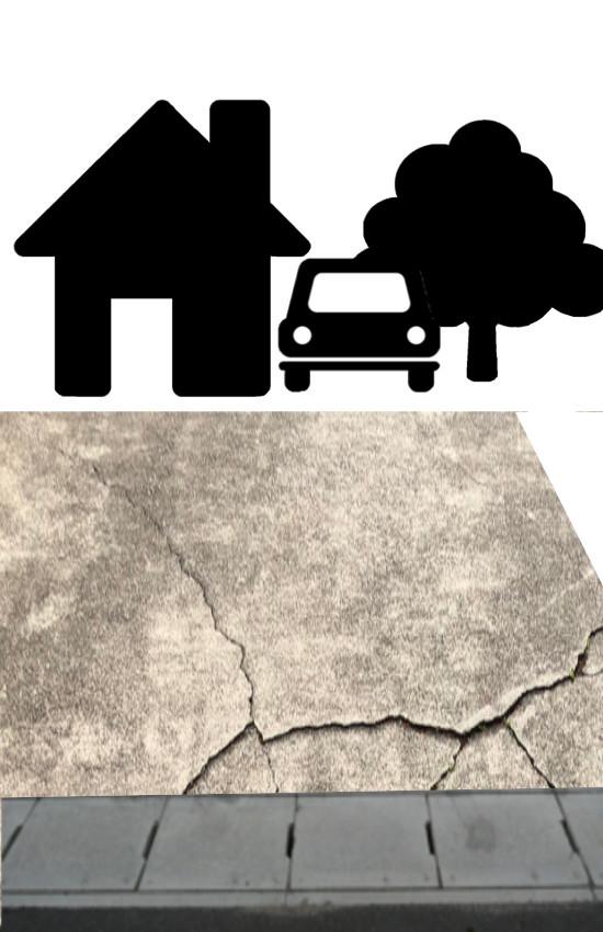 土間コンクリートデザインコンクリートスタンプコンクリートファンタジーコンクリートステンシルコンクリートモルタル造形お洒落おしゃれ