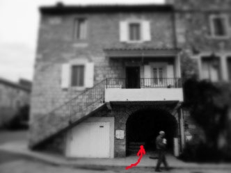 Passage ruelle sous porche 2013