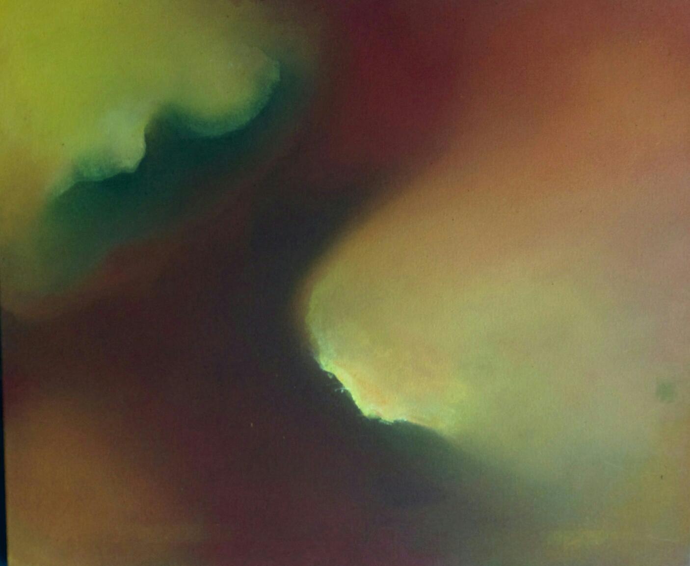 """""""OHNE TITEL"""" Acryl in neuer Technik mit vielem Schichten gemalt!"""