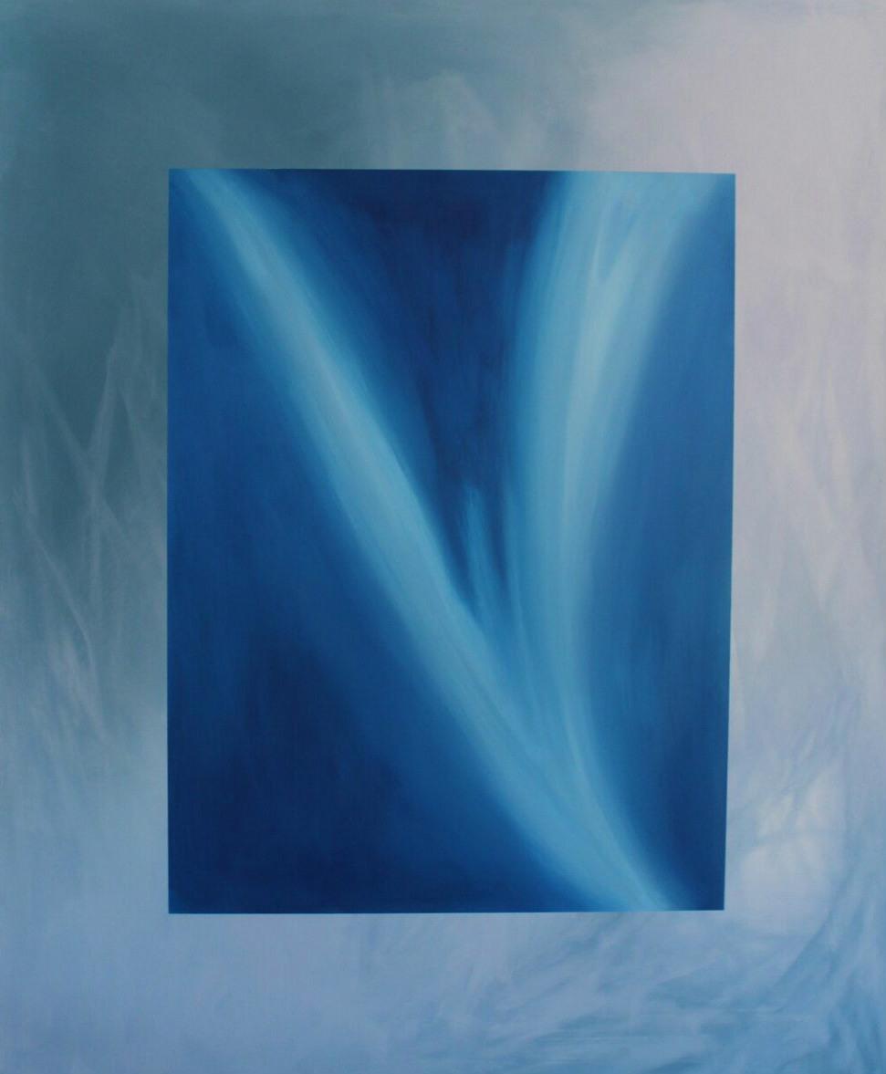 """Klarheit"" - Acryl auf Malpappe ohne Rahmen, 100x120 cm"