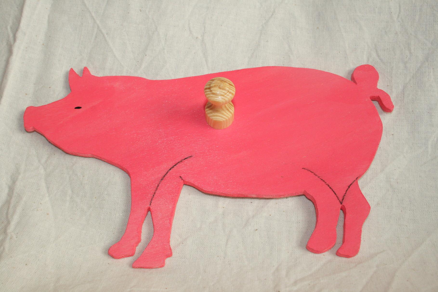 Garderobe - Schwein