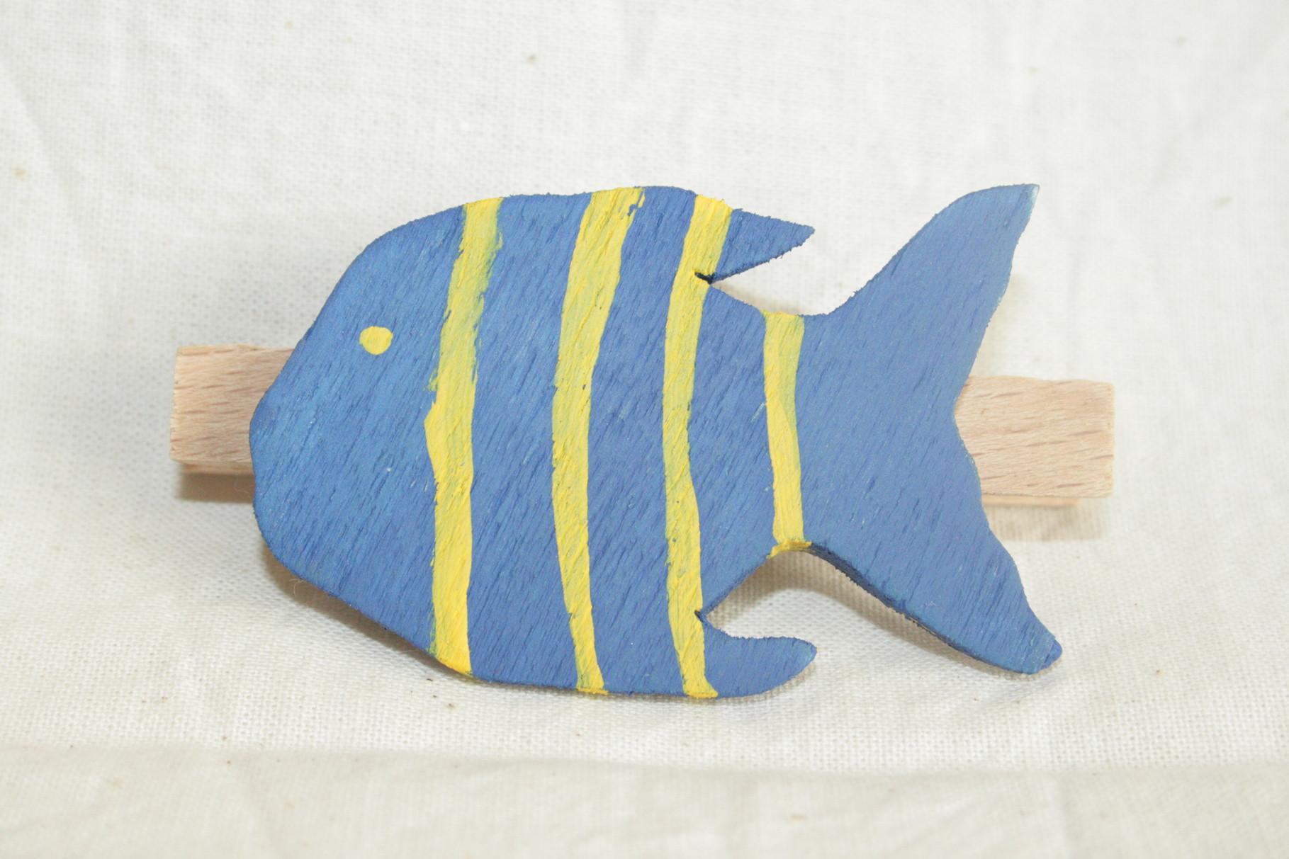 Klammer - Fisch