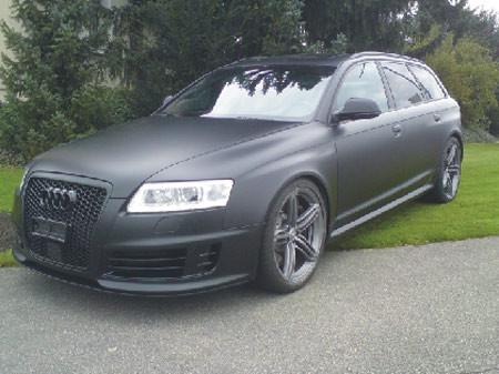 Carwrap schwarz matt, 3M scotchgal 1080