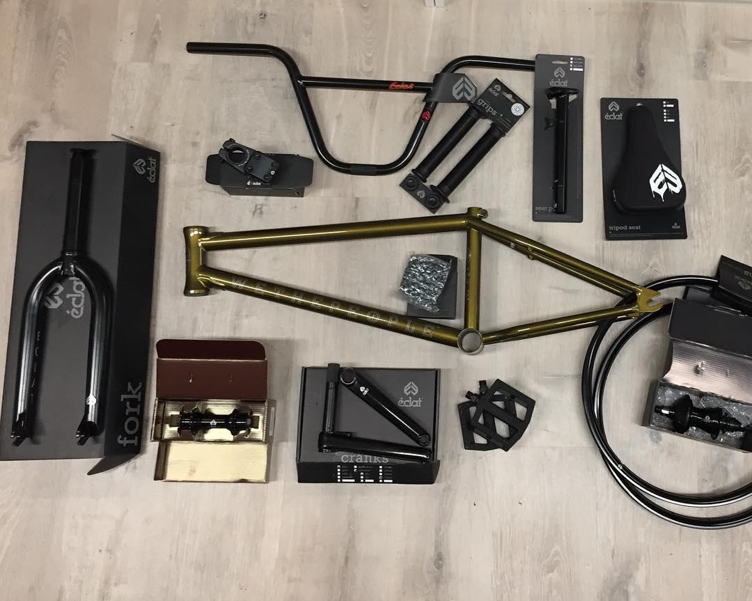 Exemple de BMX à la carte