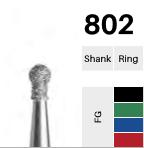 FG-Diamant 802, Kugel mit Ansatz