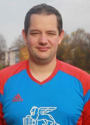 Torhüter Marius Hampel steht am Sonntag nicht zur Verfügung.