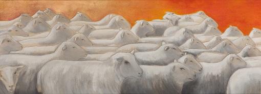Querdenker, 150 x 55 cm, 2016