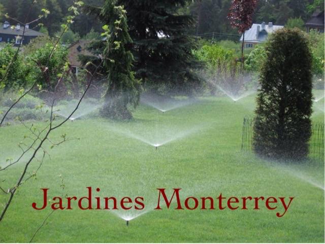 Sistema de riego para jardines