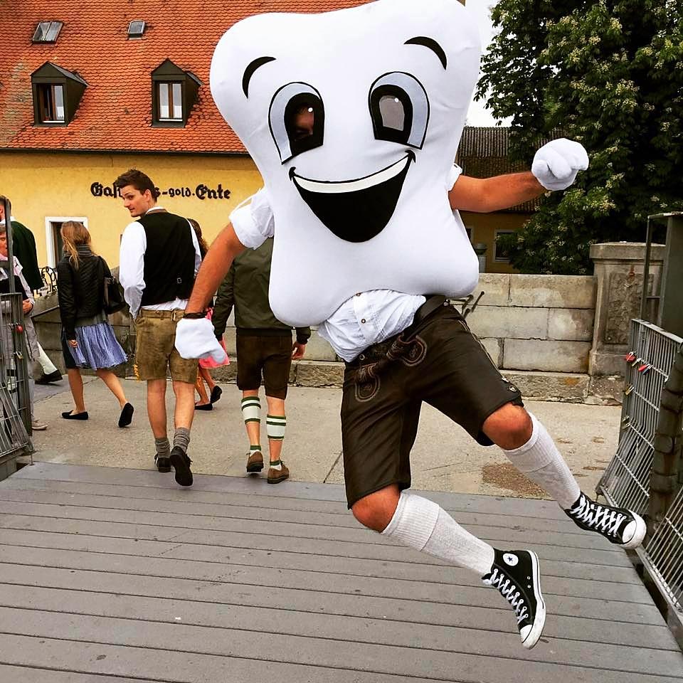 Dentoman auf der Zahni-Dult ©Fachschaft Zahnmedizin Regensburg