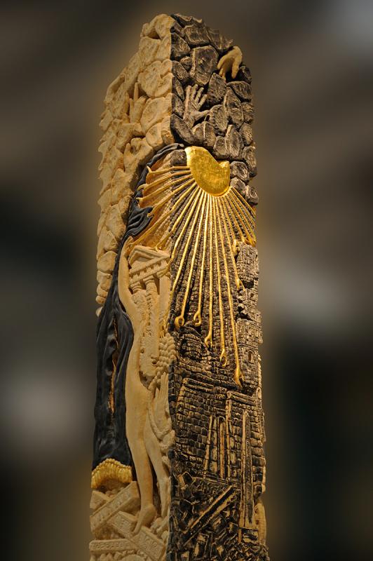 Le Menhir (détail)