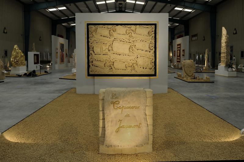 La Tapisserie de Jaumont - 250 x 180 x 20 cm