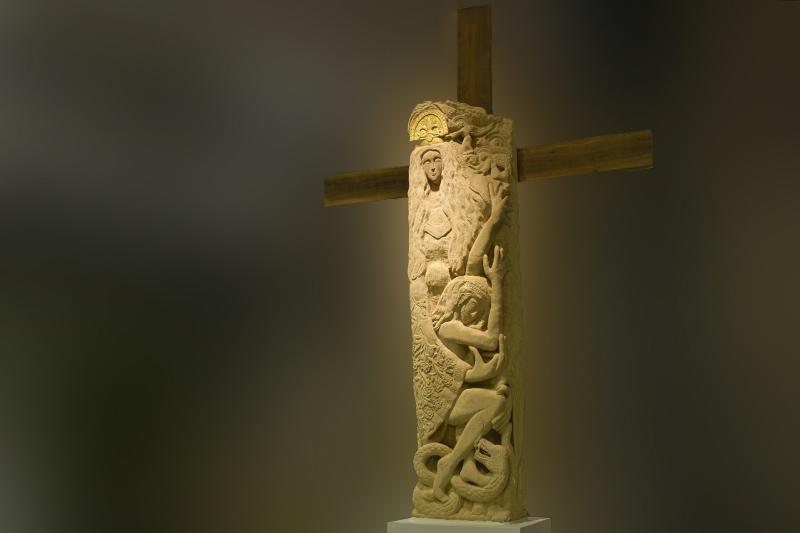 La Vierge noire - Haut. 350 cm