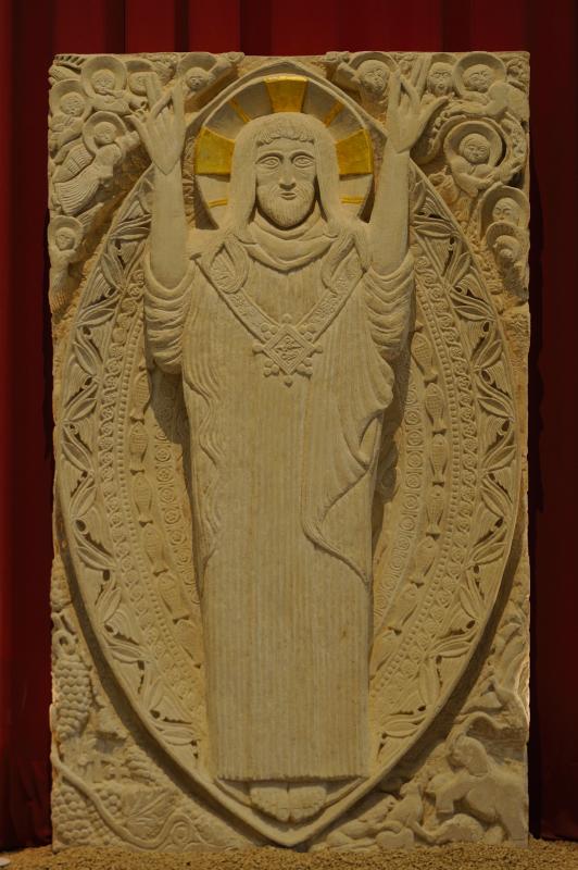 Le Christ des quatre éléments - Haut. 250 cm