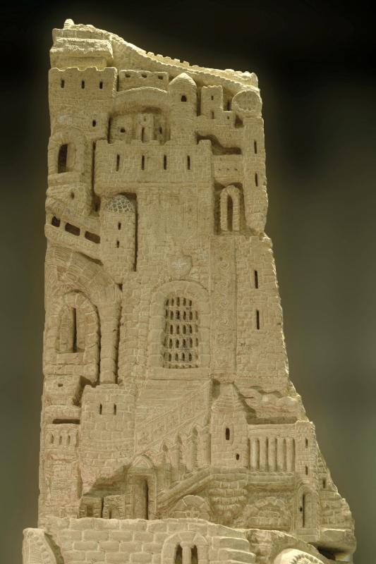 Le Grand Ange ou le Château de Maître Eckhart (détail)