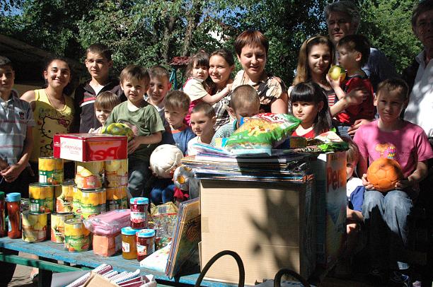 Die Stiftung Hof Schlüter fördert Hilfs-Projekte und engagiert sich in der Ukraine