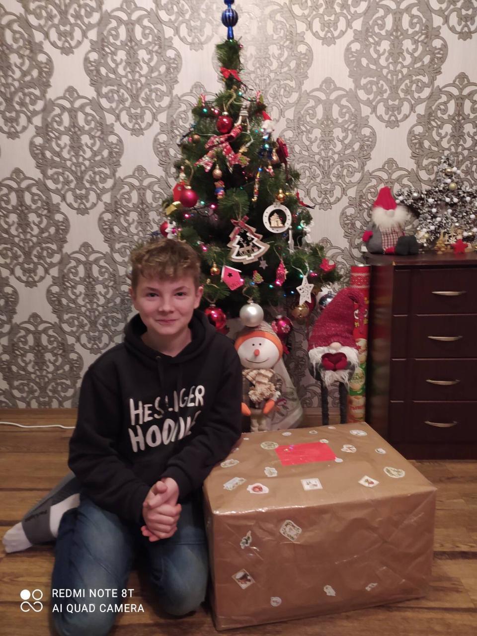 Weihnachtspakete rechtzeitig in der Ukraine angekommen