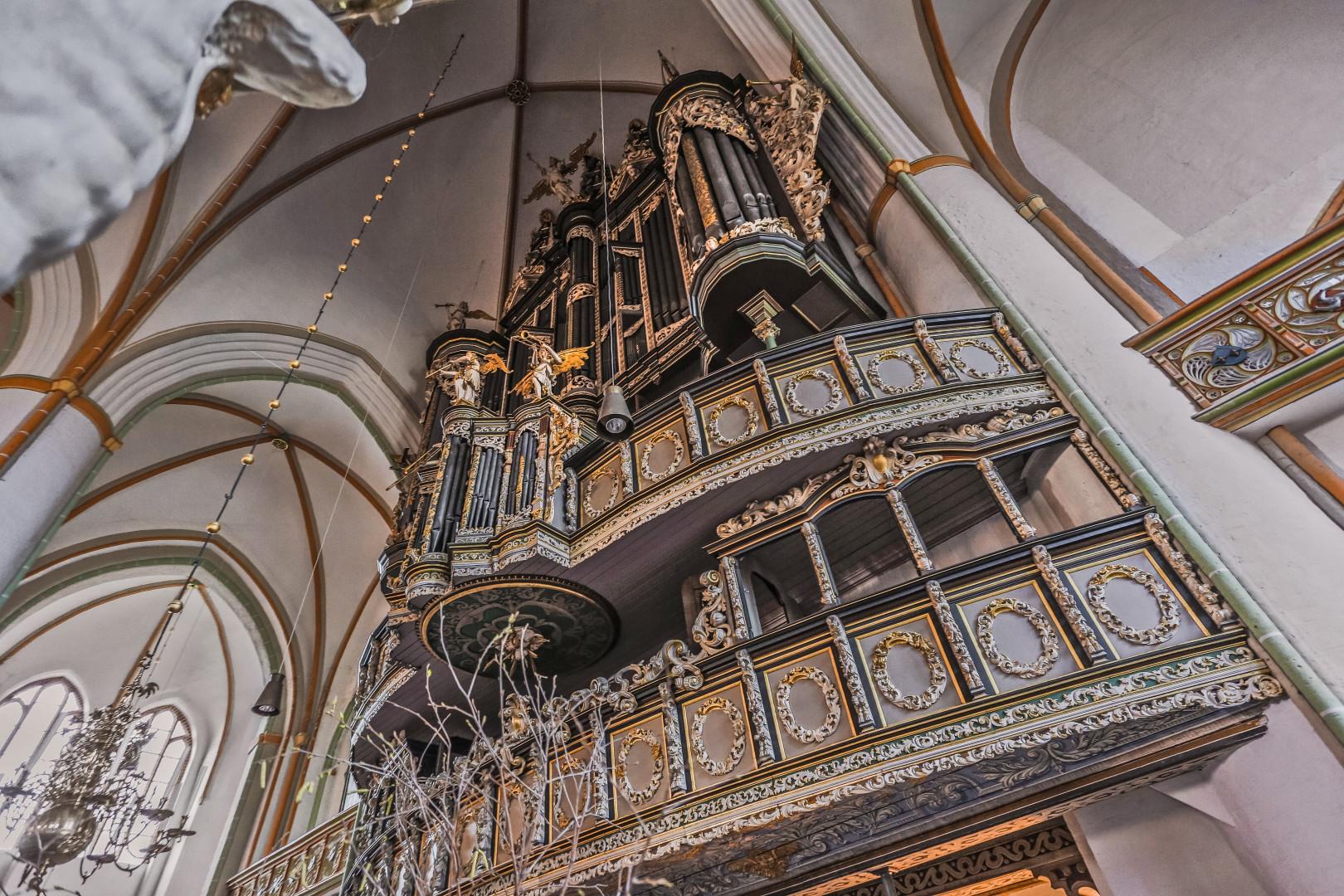 Orgelpfeifen mit Originalklang