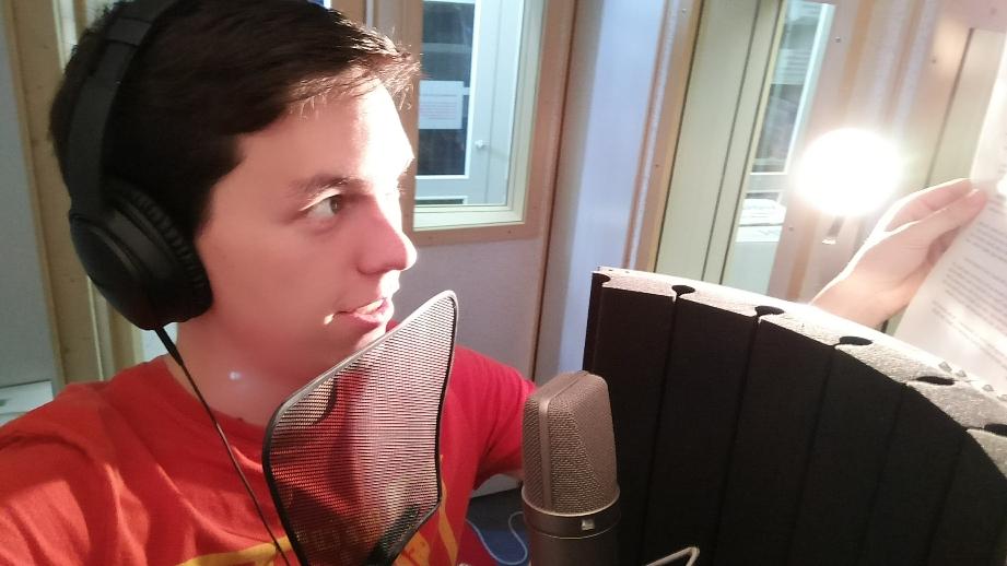 Sprachaufnahmen im Studio