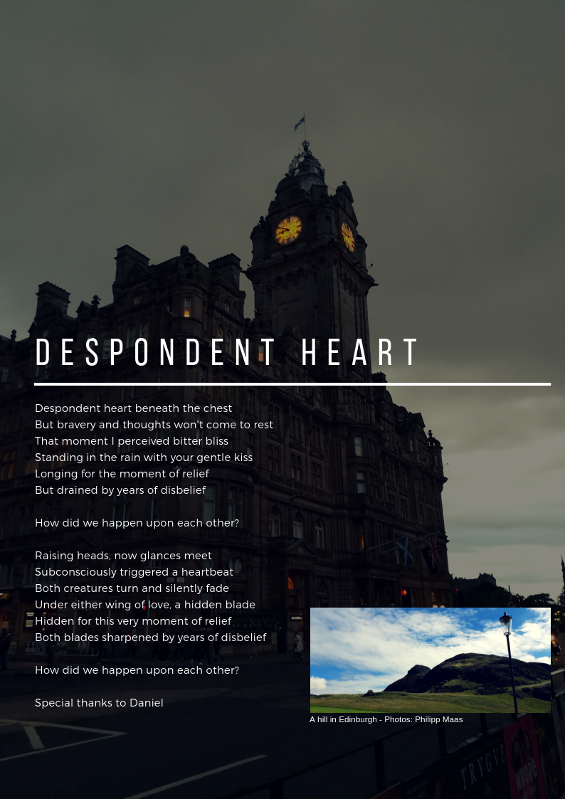 What causes despondency and its creatures