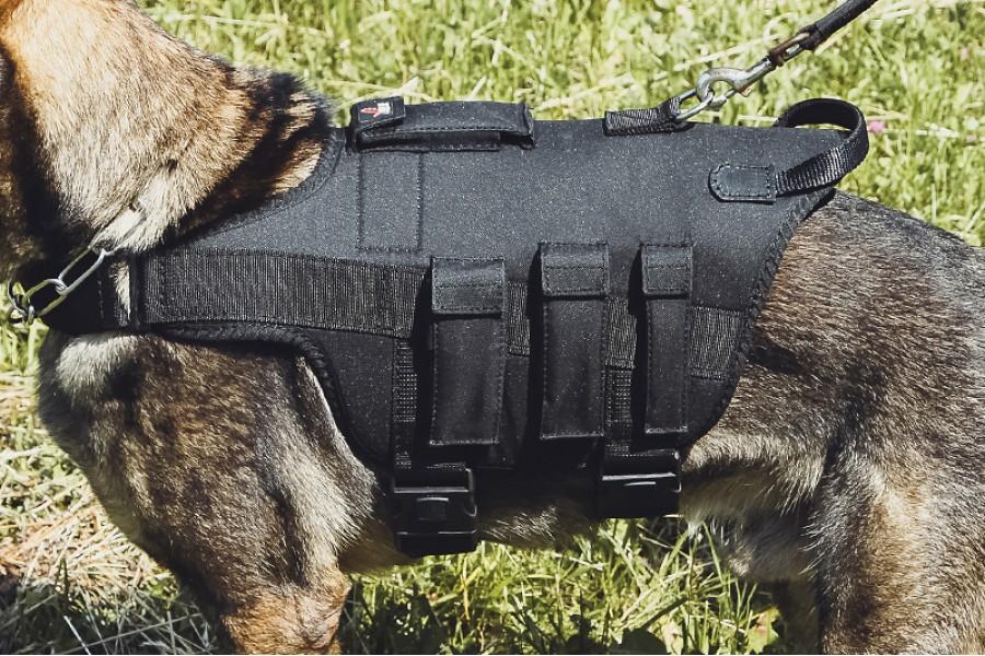 K9 tactical dog harness