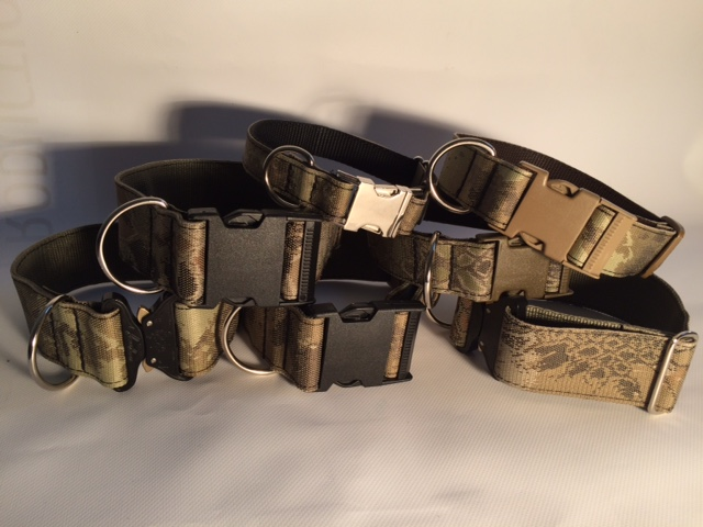 Tactical and Military Dog Collars