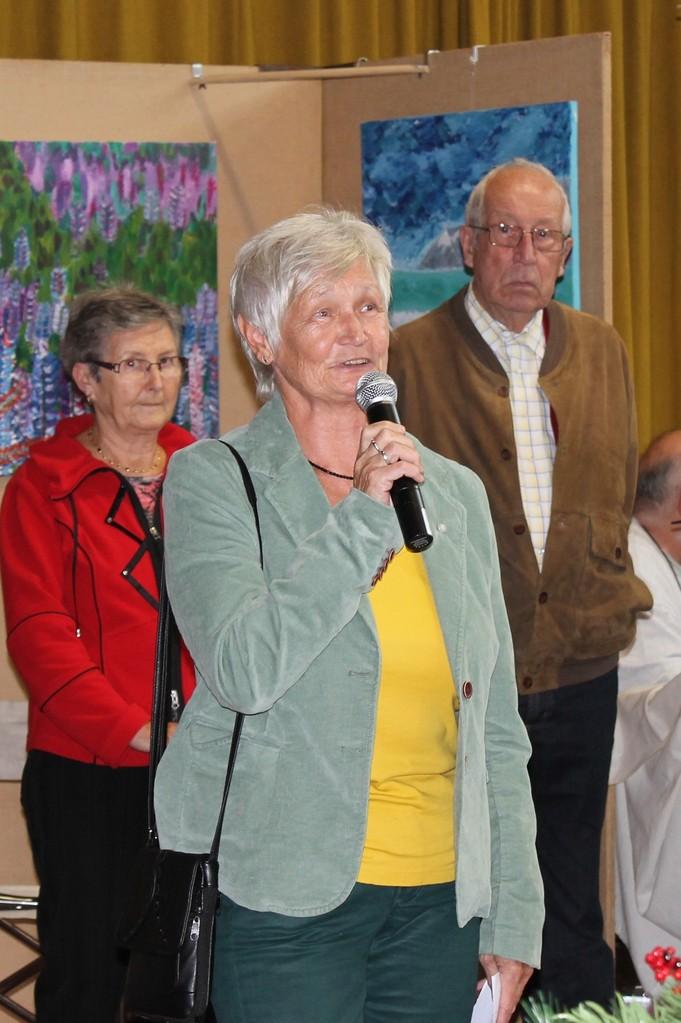 Frau Dr.Eleonore Lossen- Geißler ( Ortsvorsteherin)