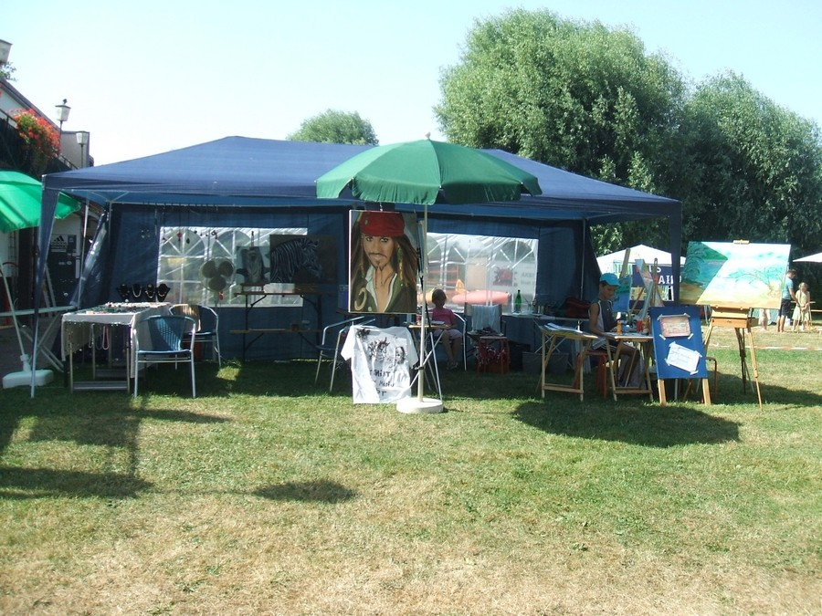Unser Stand beim Rheinuferfest