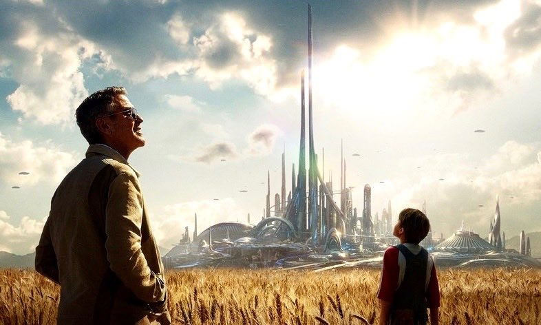 Image extraite du film Tomorrowland de Disney