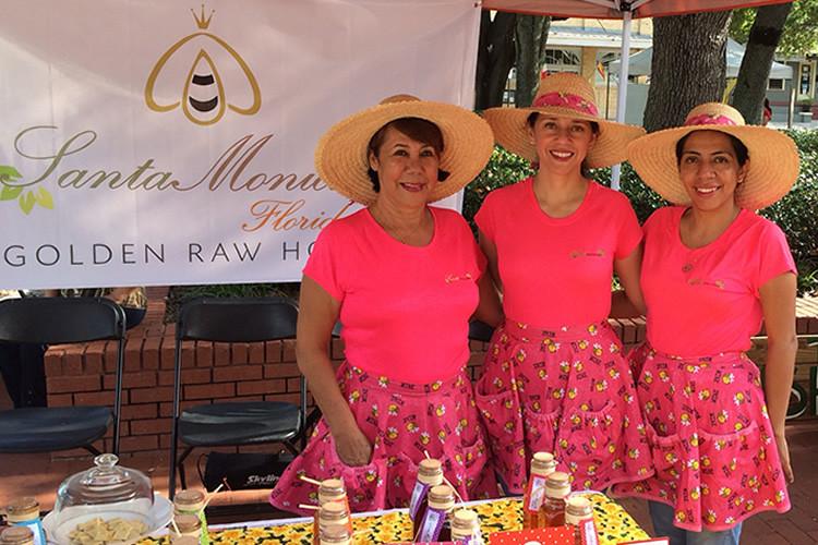 Santa Monica Honey Family