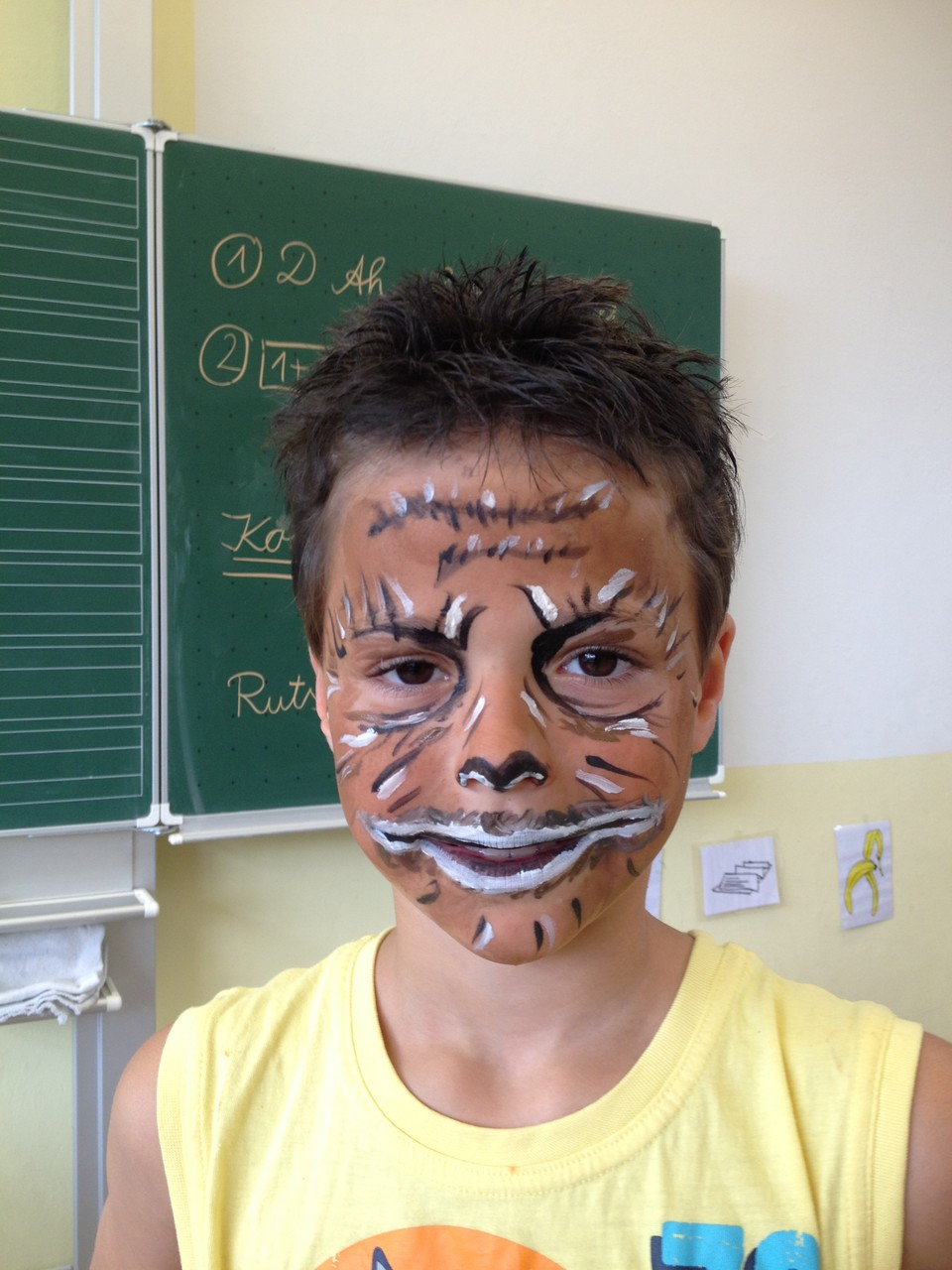 Jakob in der Maske