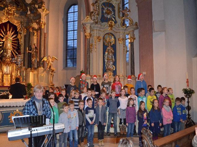 """Unser weihnachtliches """"Offenes Singen"""" 2015"""