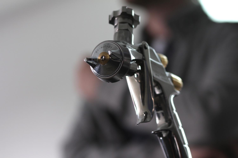 Spritzpistolentechnik