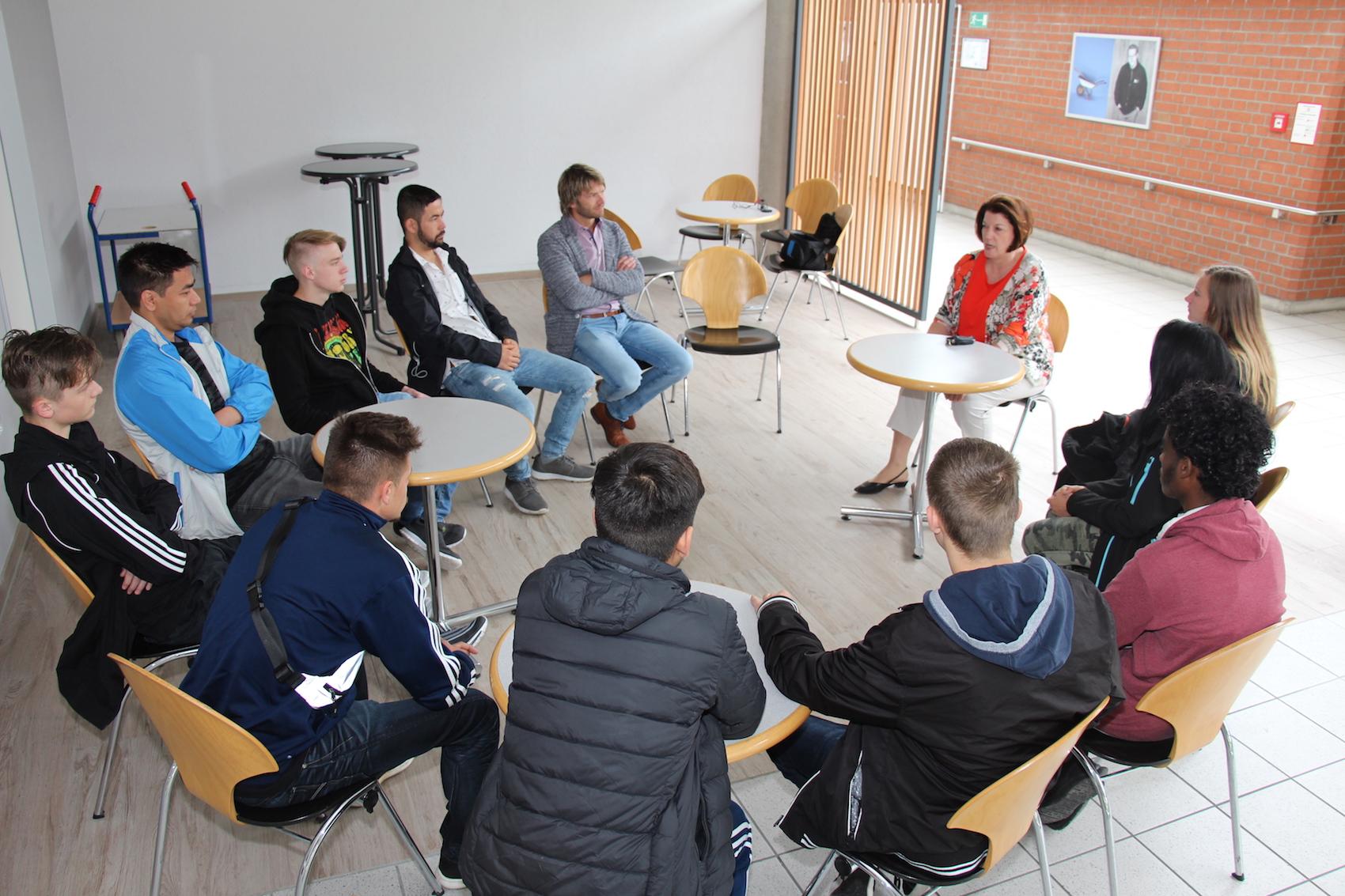 Informationsveranstaltung n der Lebenshilfe-Werkstatt München