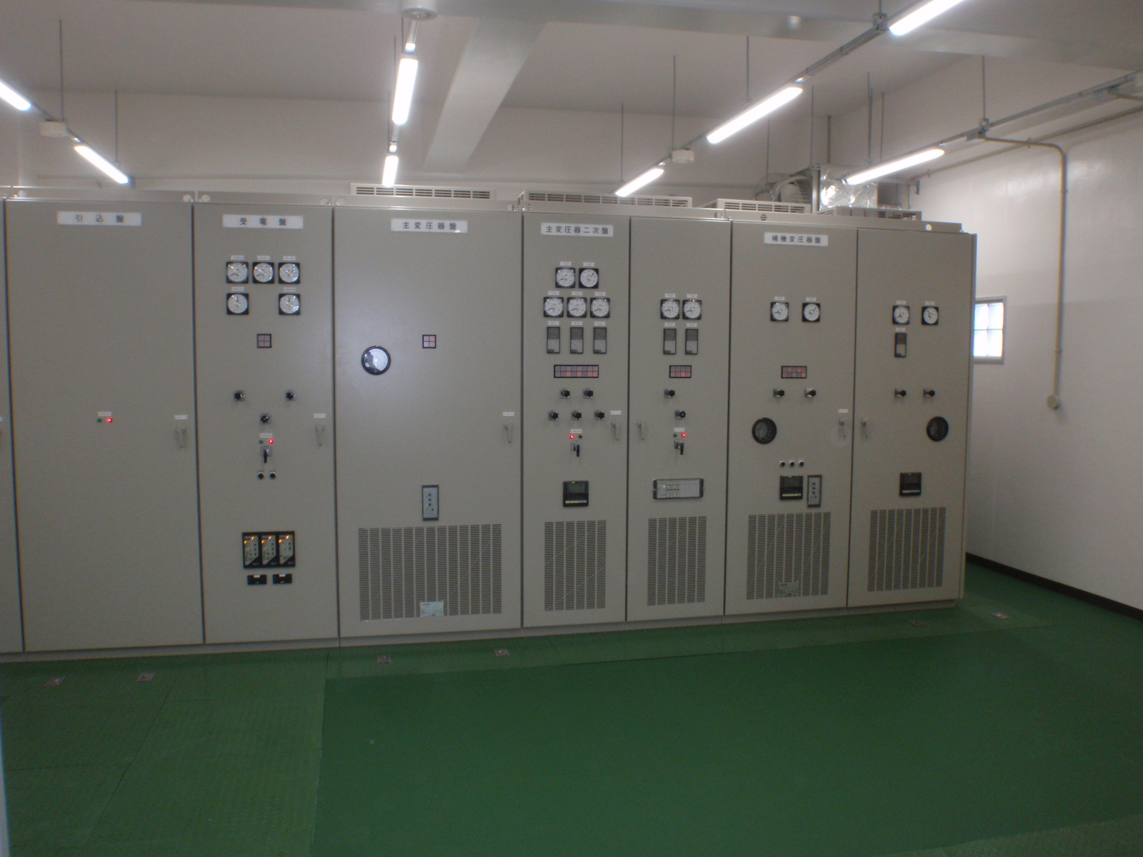 ポンプ場受変電設備・計装設備の施工をしました。