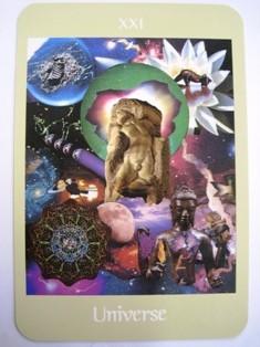今日のメインカードは「宇宙」!何回も登場しました。